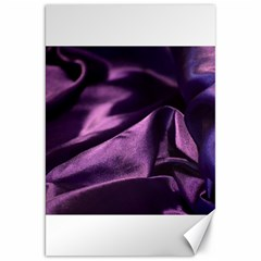 Shiny Purple Silk Royalty Canvas 20  X 30