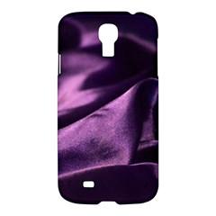 Shiny Purple Silk Royalty Samsung Galaxy S4 I9500/i9505 Hardshell Case