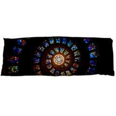 Stained Glass Spiral Circle Pattern Body Pillow Case Dakimakura (two Sides)