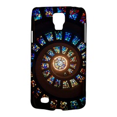 Stained Glass Spiral Circle Pattern Galaxy S4 Active