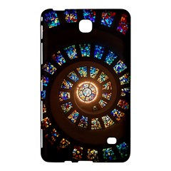 Stained Glass Spiral Circle Pattern Samsung Galaxy Tab 4 (8 ) Hardshell Case  by BangZart