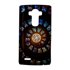 Stained Glass Spiral Circle Pattern Lg G4 Hardshell Case
