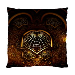 Fractal 3d Render Design Backdrop Standard Cushion Case (one Side)
