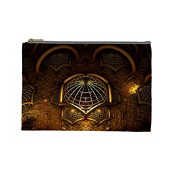 Fractal 3d Render Design Backdrop Cosmetic Bag (large)