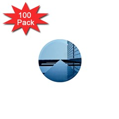 Architecture Modern Building Facade 1  Mini Magnets (100 Pack)