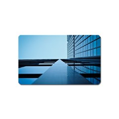 Architecture Modern Building Facade Magnet (name Card)