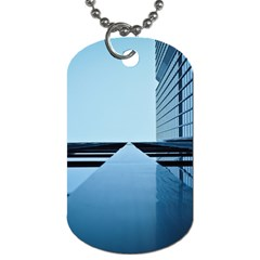 Architecture Modern Building Facade Dog Tag (one Side)