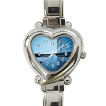Architecture Modern Building Facade Heart Italian Charm Watch Front
