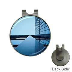 Architecture Modern Building Facade Hat Clips With Golf Markers