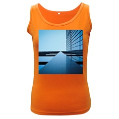 Architecture Modern Building Facade Women s Dark Tank Top