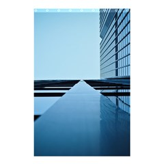 Architecture Modern Building Facade Shower Curtain 48  X 72  (small)