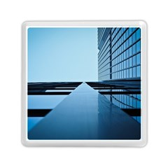 Architecture Modern Building Facade Memory Card Reader (square)