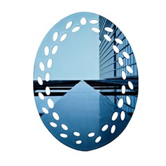 Architecture Modern Building Facade Ornament (oval Filigree)