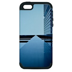Architecture Modern Building Facade Apple Iphone 5 Hardshell Case (pc+silicone)