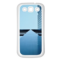 Architecture Modern Building Facade Samsung Galaxy S3 Back Case (white)