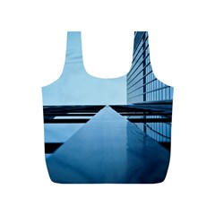 Architecture Modern Building Facade Full Print Recycle Bags (s)