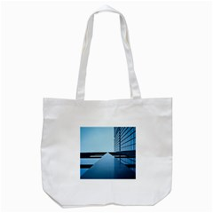 Architecture Modern Building Facade Tote Bag (white)
