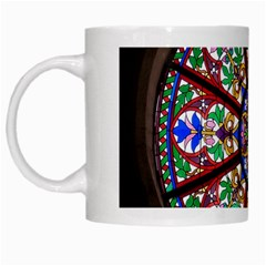 Church Window Window Rosette White Mugs