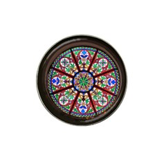 Church Window Window Rosette Hat Clip Ball Marker (10 Pack)