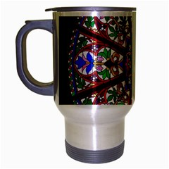 Church Window Window Rosette Travel Mug (silver Gray) by BangZart