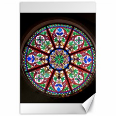 Church Window Window Rosette Canvas 20  X 30