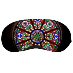 Church Window Window Rosette Sleeping Masks by BangZart