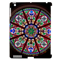 Church Window Window Rosette Apple Ipad 3/4 Hardshell Case (compatible With Smart Cover)