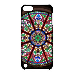 Church Window Window Rosette Apple Ipod Touch 5 Hardshell Case With Stand