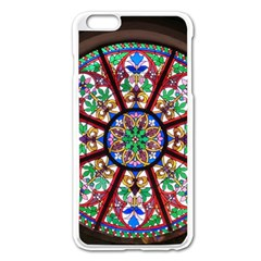 Church Window Window Rosette Apple Iphone 6 Plus/6s Plus Enamel White Case by BangZart