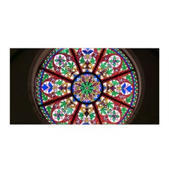 Church Window Window Rosette Satin Wrap by BangZart