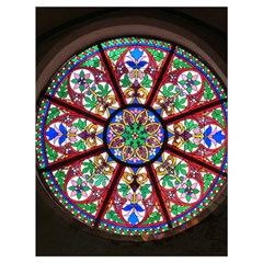 Church Window Window Rosette Drawstring Bag (large) by BangZart