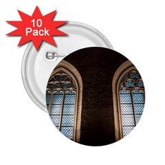 Church Window Church 2 25  Buttons (10 Pack)