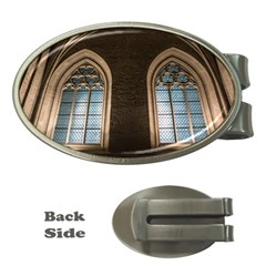 Church Window Church Money Clips (oval)