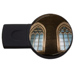 Church Window Church Usb Flash Drive Round (2 Gb)