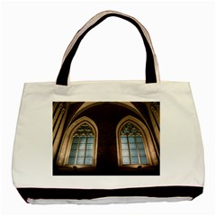 Church Window Church Basic Tote Bag