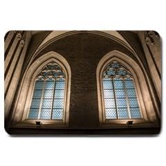 Church Window Church Large Doormat