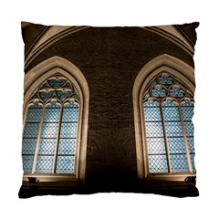Church Window Church Standard Cushion Case (two Sides)