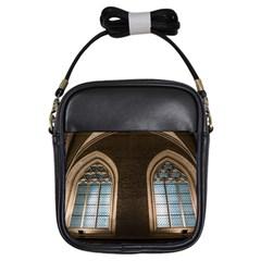 Church Window Church Girls Sling Bags