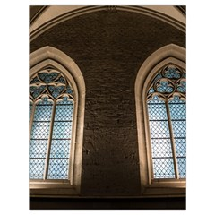 Church Window Church Drawstring Bag (large) by BangZart