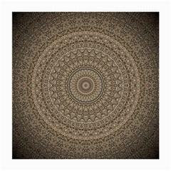 Background Mandala Medium Glasses Cloth (2 Side)