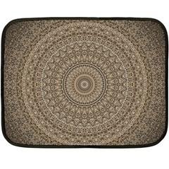 Background Mandala Double Sided Fleece Blanket (mini)  by BangZart