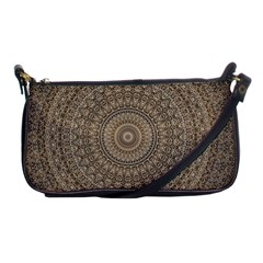 Background Mandala Shoulder Clutch Bags