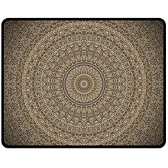 Background Mandala Fleece Blanket (medium)