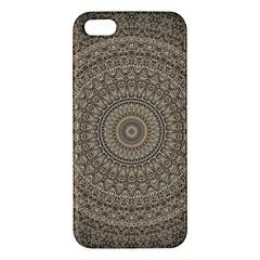 Background Mandala Iphone 5s/ Se Premium Hardshell Case
