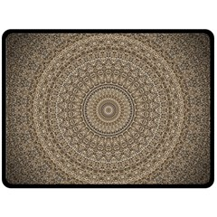Background Mandala Double Sided Fleece Blanket (large)  by BangZart