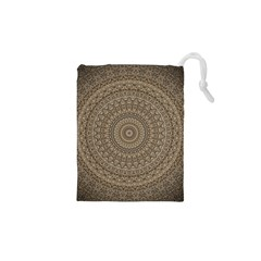 Background Mandala Drawstring Pouches (xs)