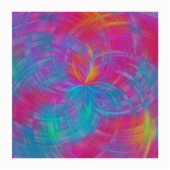 Abstract Fantastic Fractal Gradient Medium Glasses Cloth (2 Side)