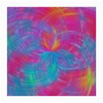 Abstract Fantastic Fractal Gradient Medium Glasses Cloth (2-Side) Back