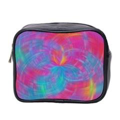 Abstract Fantastic Fractal Gradient Mini Toiletries Bag 2 Side