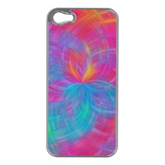Abstract Fantastic Fractal Gradient Apple Iphone 5 Case (silver)